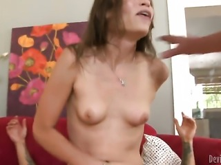 Amber Rayne loves to blow and cant say No to her hard cocked bang buddy
