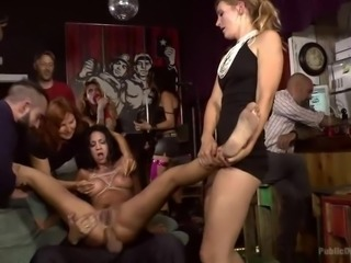 Cum Dumster Cock Garage Humiliated In Public