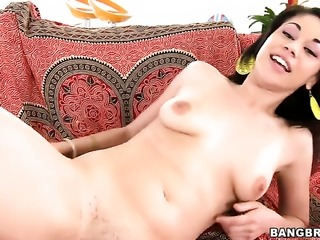 Summer Bailey spends her sexual energy with hard sausage in action