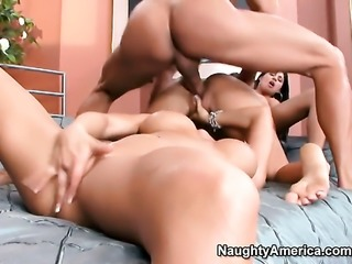 Billy Glide enjoys sinfully sexy Rachel Starrs wet hole in sex action