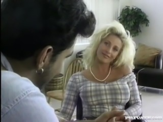 JR, Pretty Busty Blonde Likes Anal
