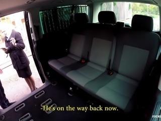 FuckedInTraffic -  Czech blondie gets fucked in a van