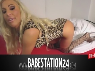 Hot German Babestation24 Babe gets naughty