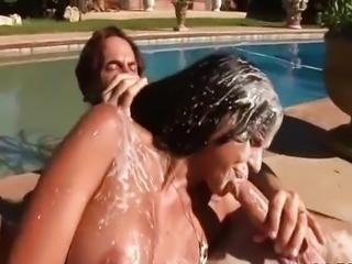 Diamond Kitty Cum Bath by Huge Monster Cocks