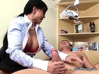Wild Dentists Need Patients Big Hard Cock