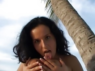 Perfect Latino German Girl wife nice Round boobs big labia clit lips