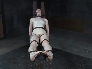 Barbary Rose loves to be dominated, but this session was a nightmare. She was...