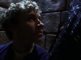 Sexy Maleficent in latex Stormy Daniels fucks her prisoner
