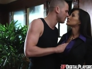 Digital Playground- Horny Lisa Ann Fucks Student In School