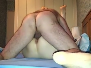 Our homemade sex video with my blonde German wifey