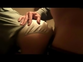 Cum In My Wife While She Still Has Her Panties On!