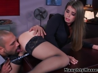 Bunny Freedom fucking in her stockings