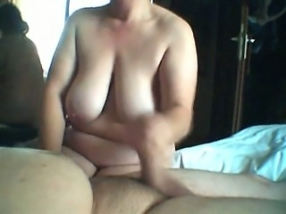 I am gonna fuck my fat wife as soon as she gets my dick hard