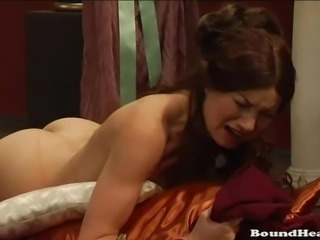 Girls bound and whipped by mistress
