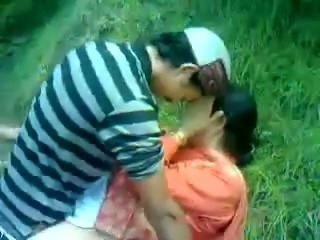 Lustful Paki milf gets fucked by my buddy in the forest