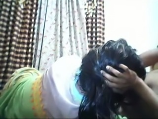 Cute Indian submissive wife is ready for facefuck on webcam
