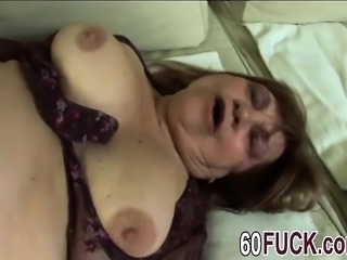 Dirty granny getting fucked hard by a young music