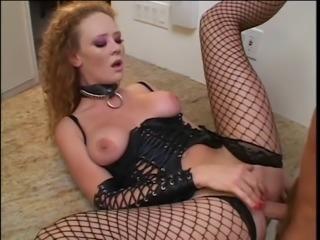 Audrey Hollander butt-banged in the kitchen