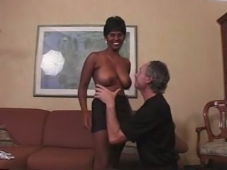 Indian busty milf came to find job and fucks in my office