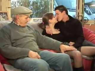 Grandpa needs pussy - Telsev