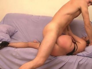 Stepmom & guy enjoy each other