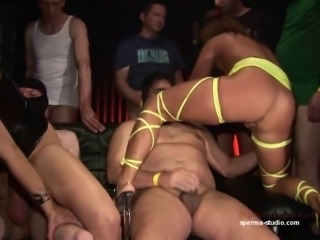 Sperma-Studio:  Gangbang Sensation - Part 2