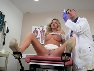 i was turned on during gynecological check