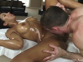 My body needed a decent fuck, so I let the masseur to get dirty with me. He...
