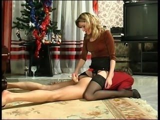 Russian Blonde with Strapon 13
