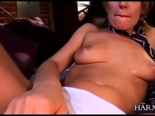 Holly Wellin enjoys an amazing DP threesome action