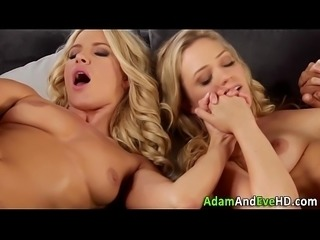 Jizz swapping sluts 4some