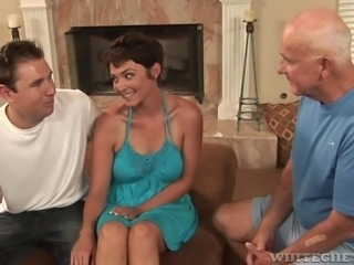 Sweet Charlie is a kinky milf and she has had enough of her old husband's...