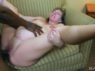 Sex-crazy pregnant whore Charlie Macc is fond of big black dick