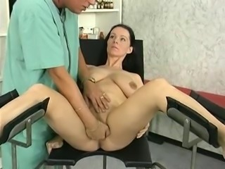 pregnant wife study and fucked by the doctor