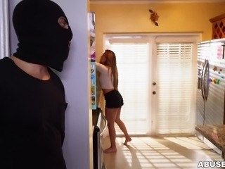 Nicole didn't notice that there was a burglar in her house, but when he...