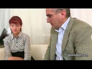Lovable schoolgirl gets seduced and banged by her senior schoolteacher