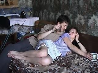 (maturescreen) russian drunk on bed By CDM