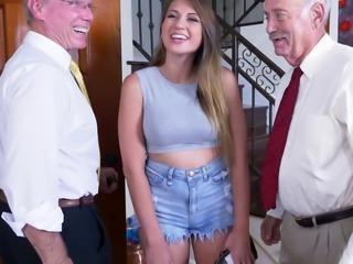 Ivy Rose Fucks Grandpa's Cock