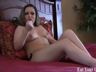 Jerk your cock and drink your cum for me CEI