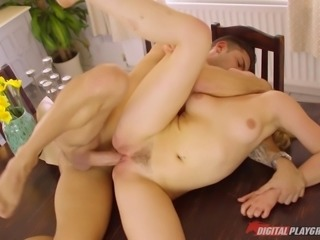 Gorgeous and talented Mia Malkova fucking in an erotic scene