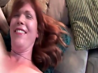 Solo tranny wanking her cock at casting