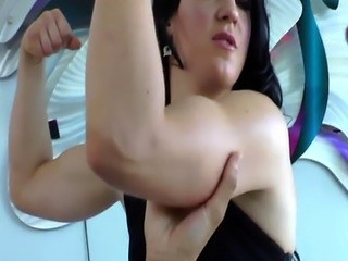 Dirty domina queening her sub before cumswap
