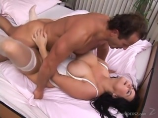 Sweet Renata Gets Fucked Hard In The Missionary Position