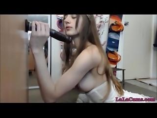 Sex Online LaLaCams.com Alice With A Huge Dildo HD Part1 01