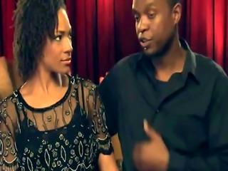 Swinging couples go interracial