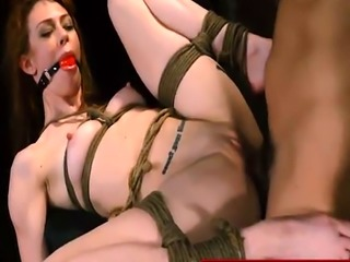 Hot redhead takes a rough ride she?ll never forget