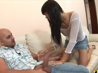 Dirty Teen Molly Gets Fucked Ass To Mouth