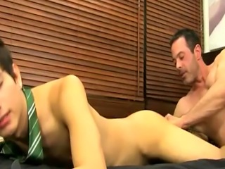 older nude men gay first time Mike trusses up and