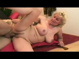 Dirty mature woman with big breasts loves to get nailed rough and deep