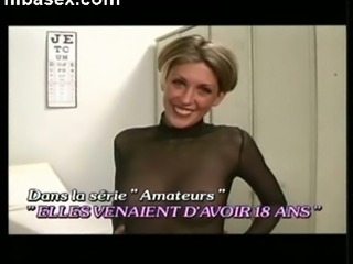 This hot MILF likes to wear pantyhose and she turns my legs to jelly